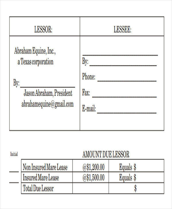 contract lease payment due upon receipt1