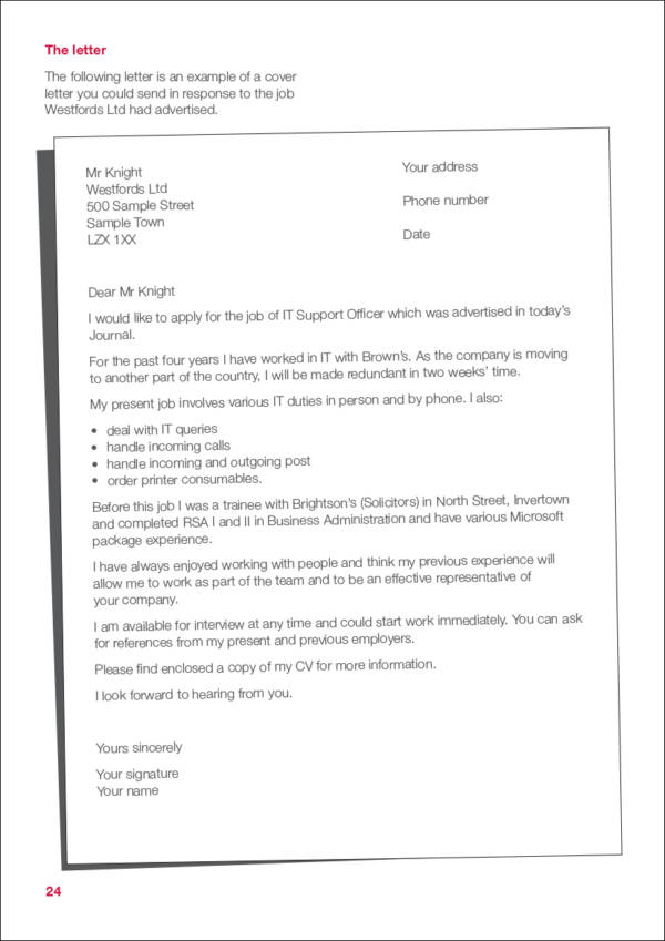job postings template - gallery of sample cover letter for online job posting