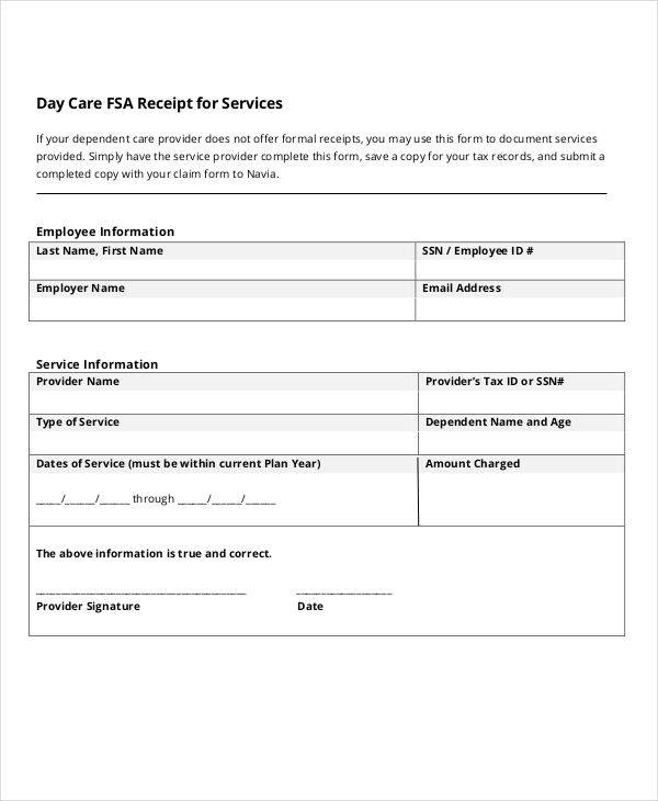 Daycare Invoice Template Novasatfmtk - Invoice template for services provided