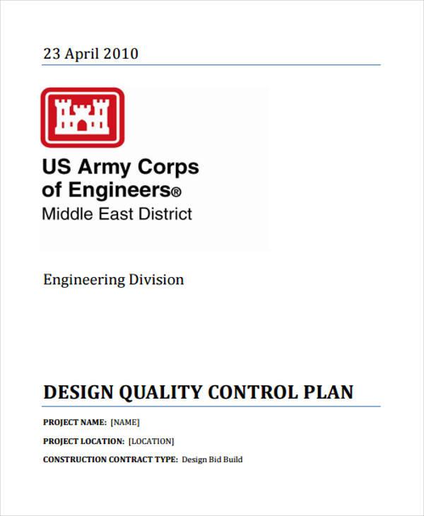 design control plan