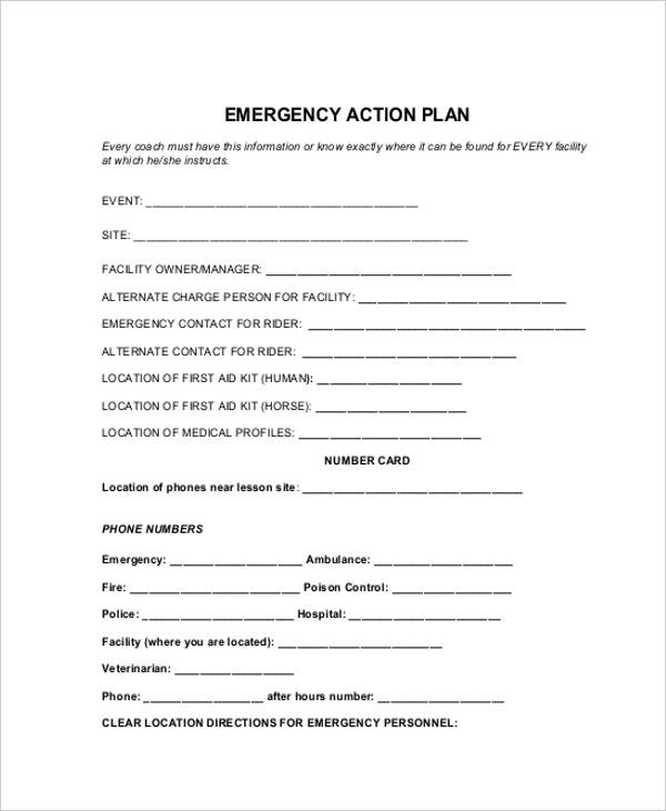 emergency action plan3