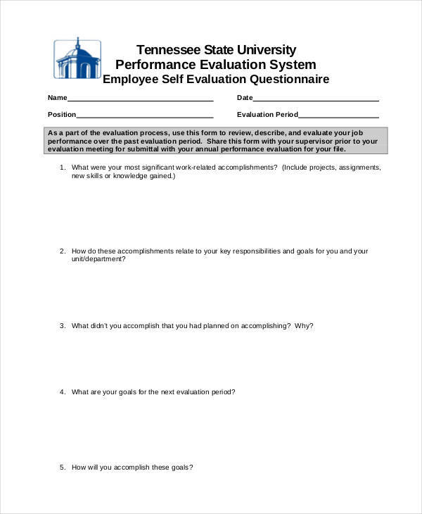 Samples Of Employee Evaluations  BesikEightyCo