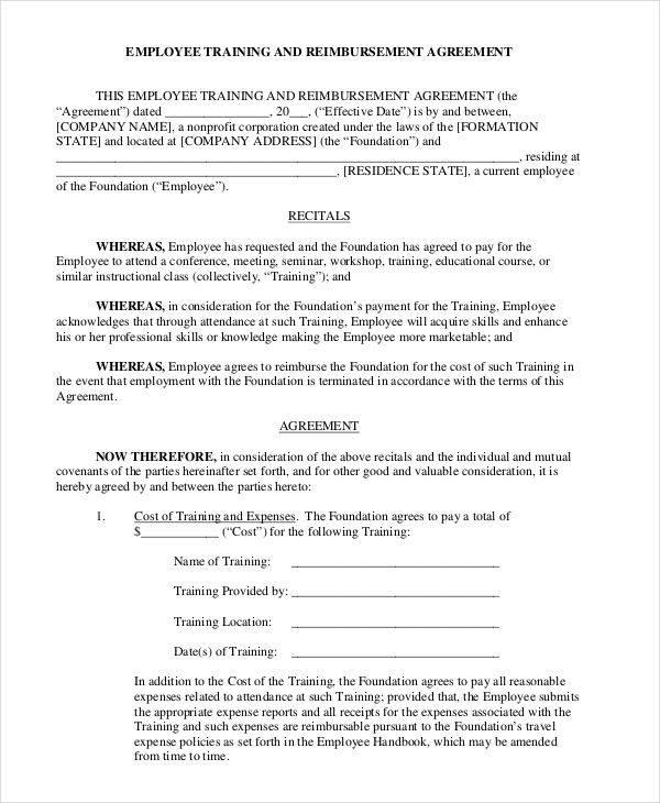employee training contract3