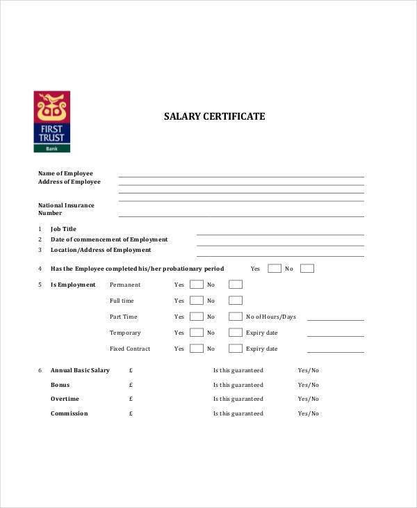 employment salary certificate1