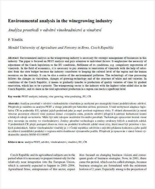 environmental industry