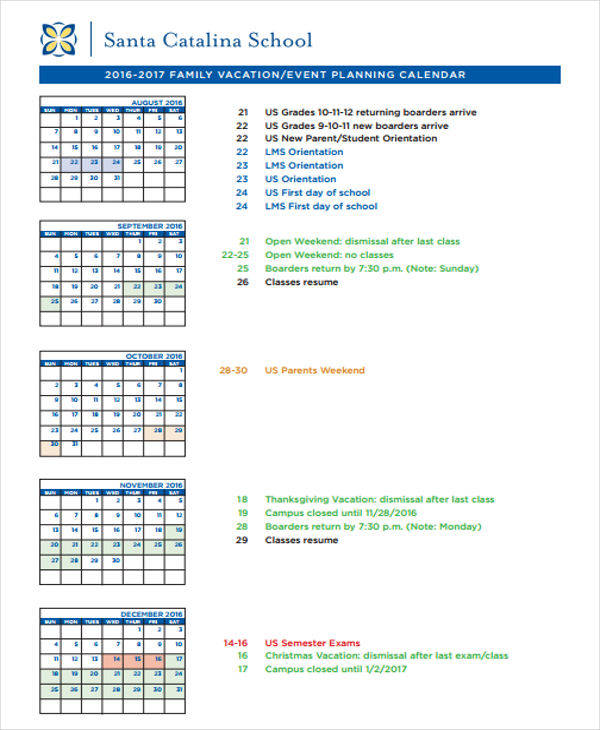 Event Calendar Templates  BesikEightyCo