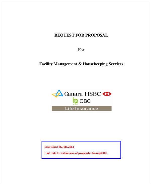 facility management proposal