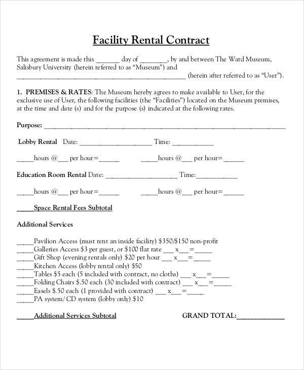 facility rental contract2