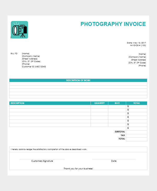 fashion photography receipt1