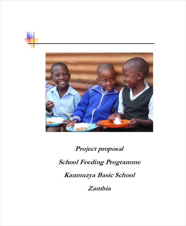 feeding program proposal