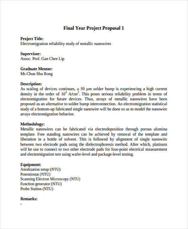 Design Project Proposal Pdf