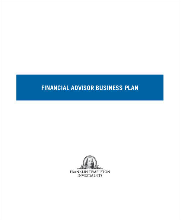 Financial Plan Samples Templates PDF DOC - Business plan template financial advisor