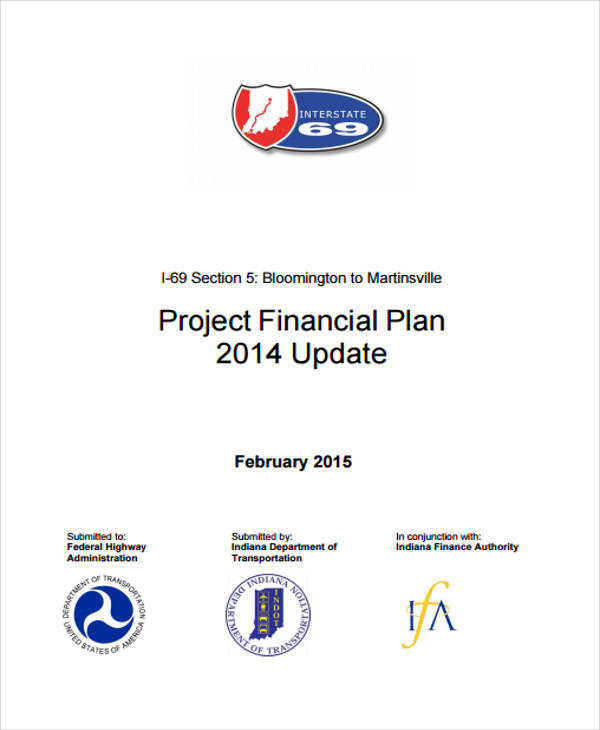 financial project plan
