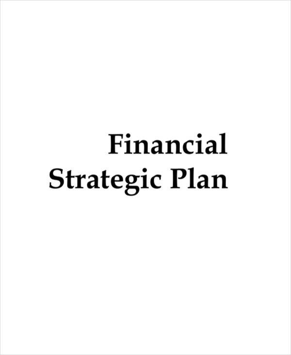 financial strategic plan