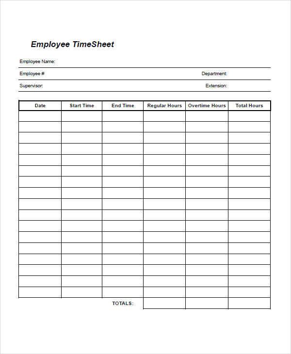 free employee time