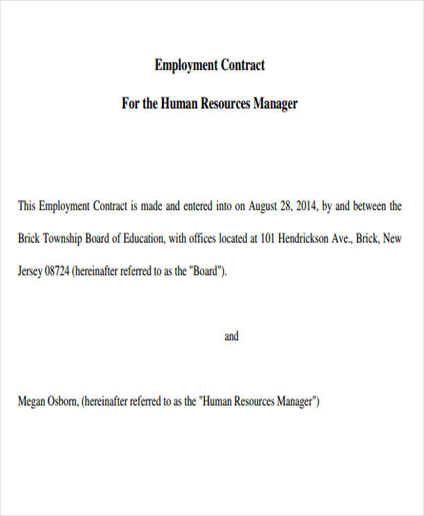hr employment contract1