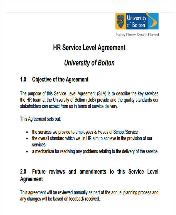 Hr Agreement  Free Sample Example Format Download