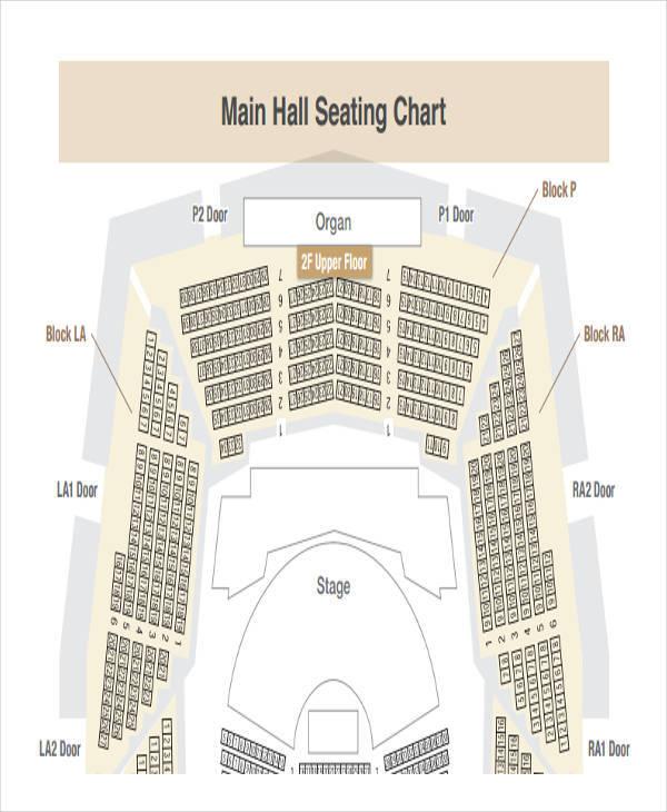 hall floor seating chart1