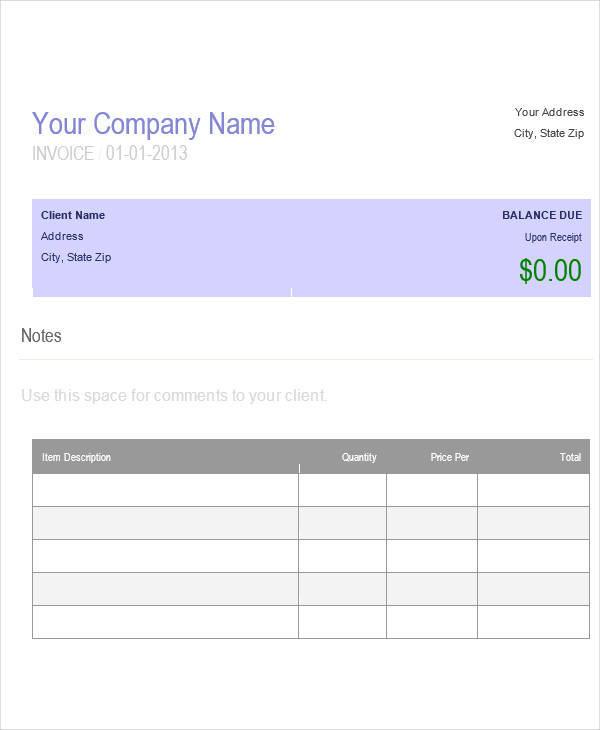 it company invoice1