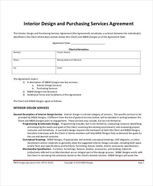 7 Project Contract Templates