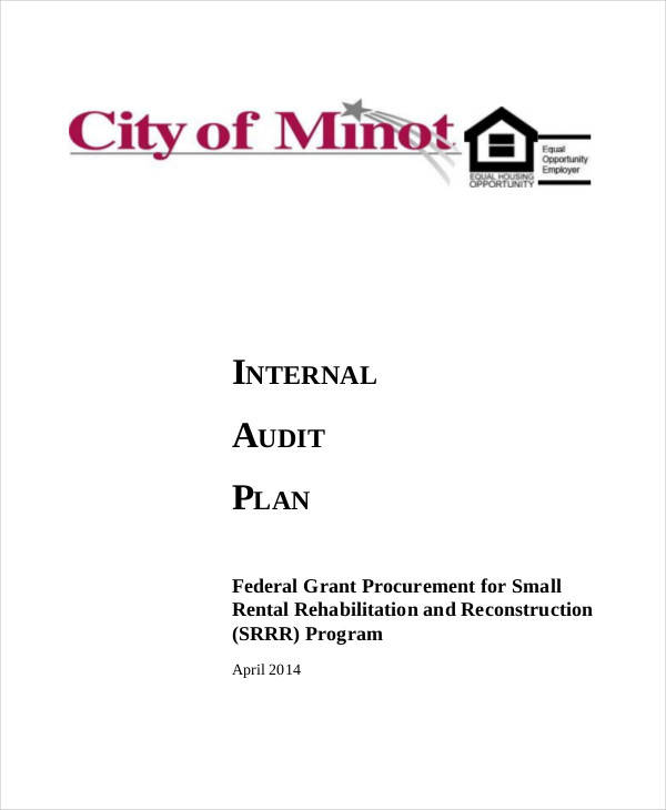 internal audit plan template