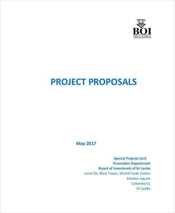 investment project proposal1