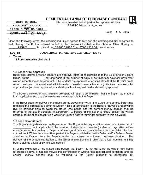 land purchase contract2