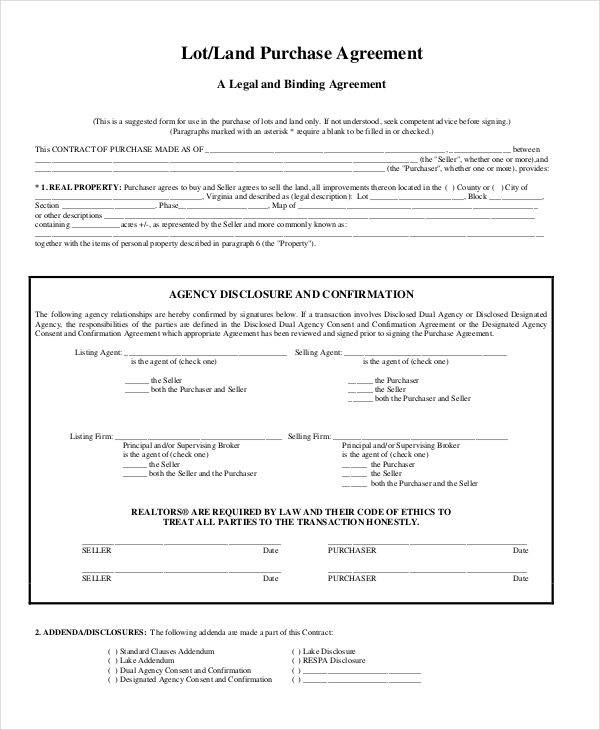 land purchase contract3