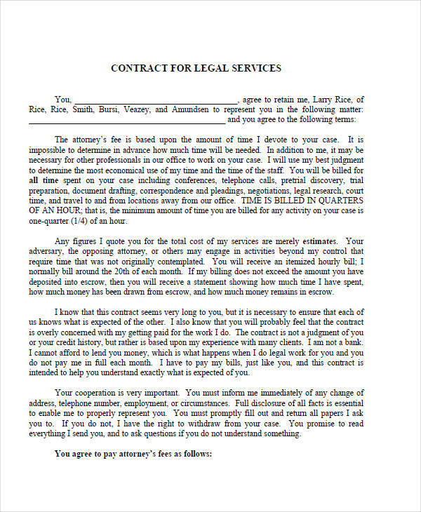 legal services contract1