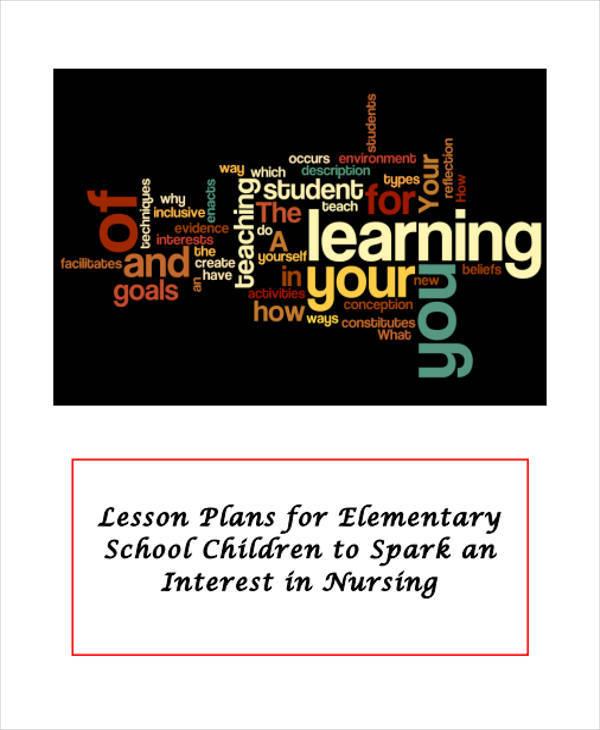 lesson plan for elementary school