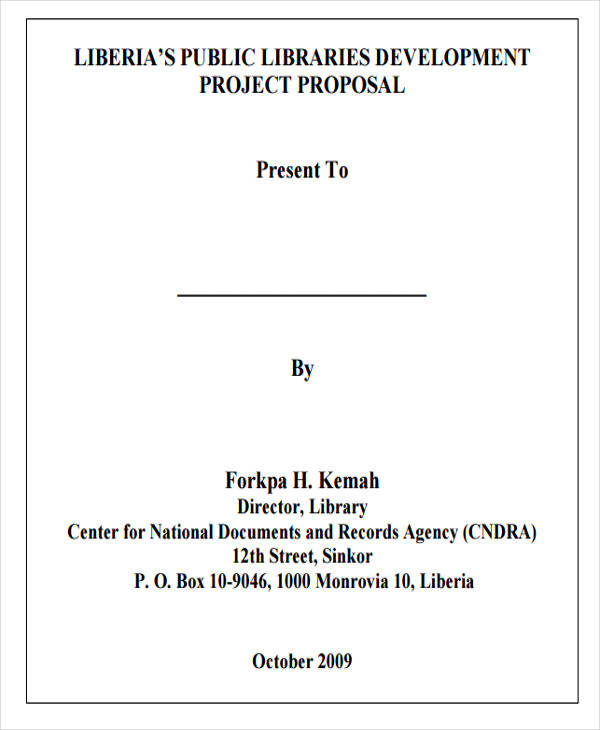 14  project proposal templates