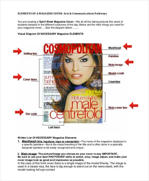 5 magazine storyboard samples templates sample templates for Magazine storyboard template
