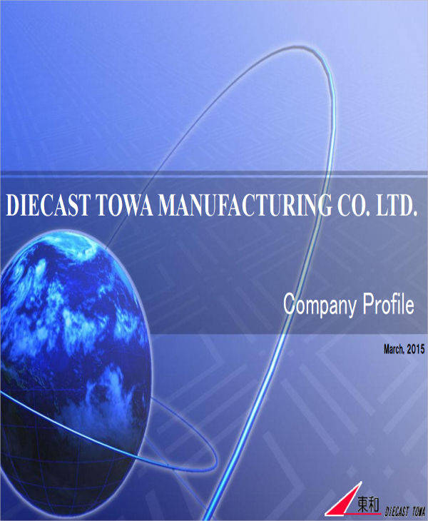 manufacturing company profile