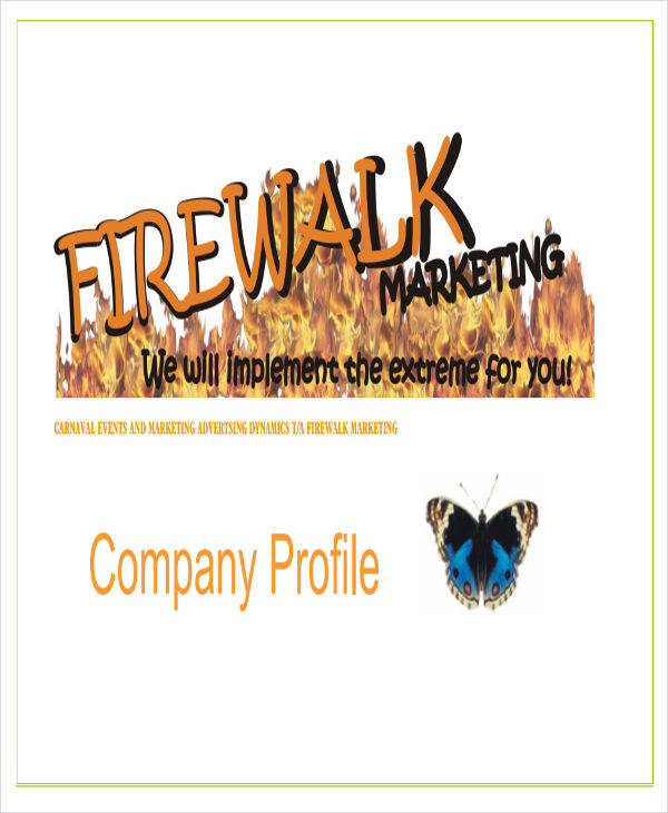 marketing company profile