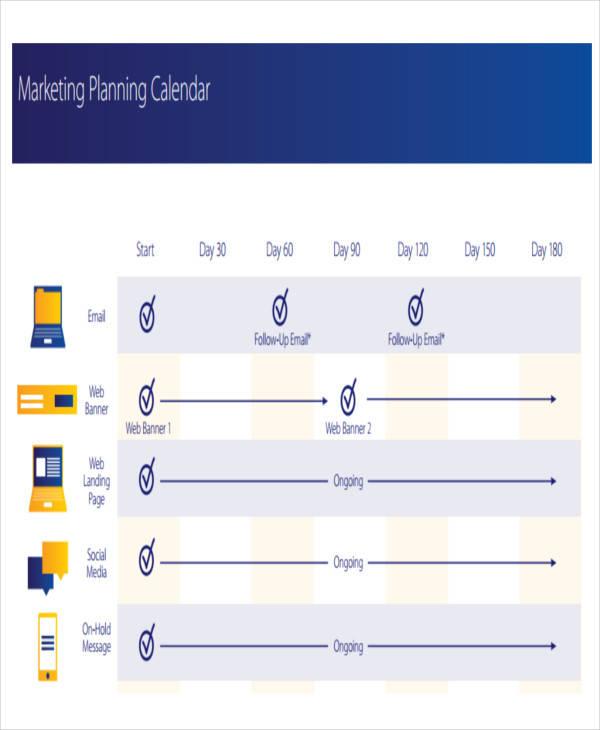 marketing plan calendar