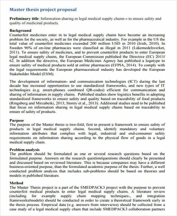 thesis proposal format A thesis proposal states a problem to be investigated and describes how the research will be performed and reported approval signifies that it meets the standards of the university of rhode island for the degree desired therefore, the preparation and writing of the thesis proposal are of utmost importance although the.