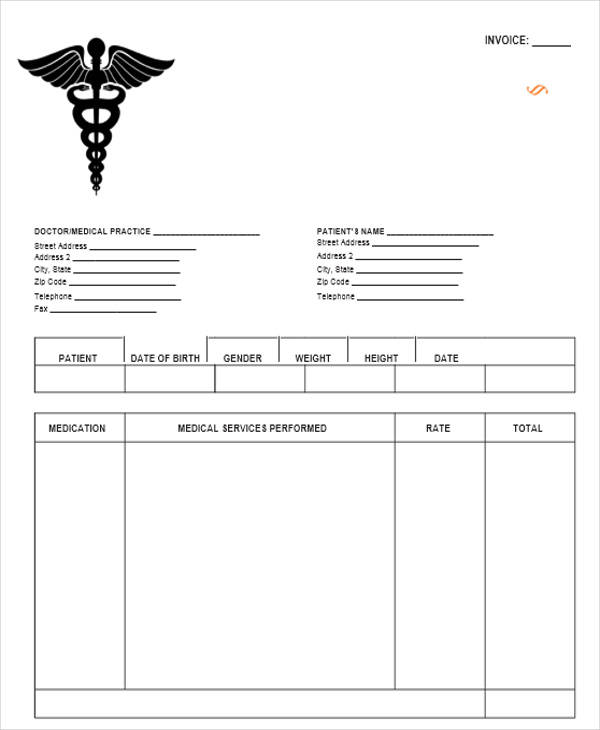medical clinic receipt2