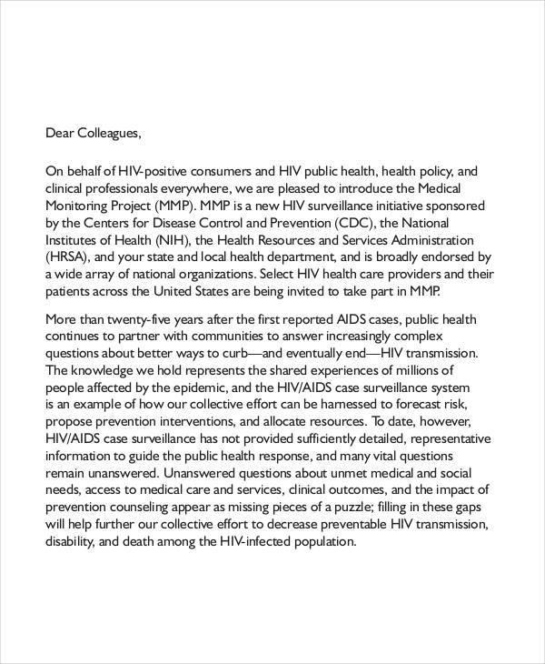 medical endorsement letter