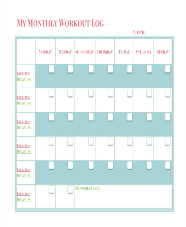 monthly workout log3