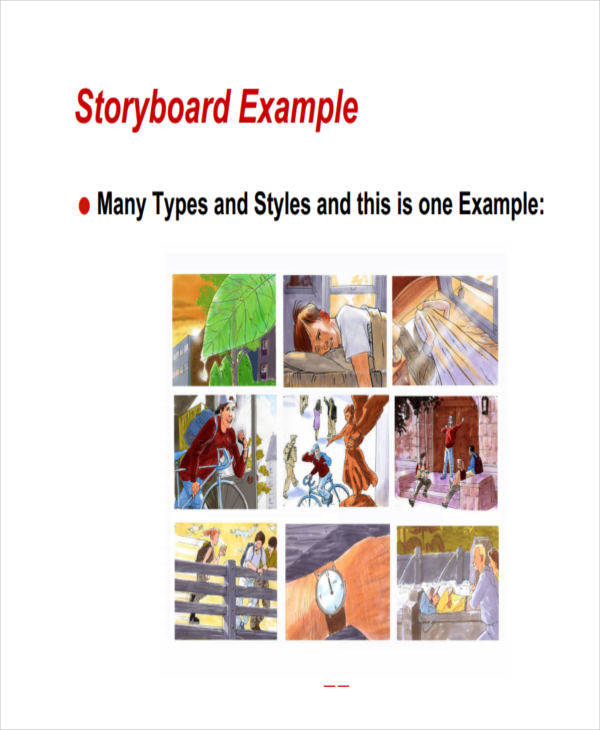 script storyboard 6 examples in word pdf