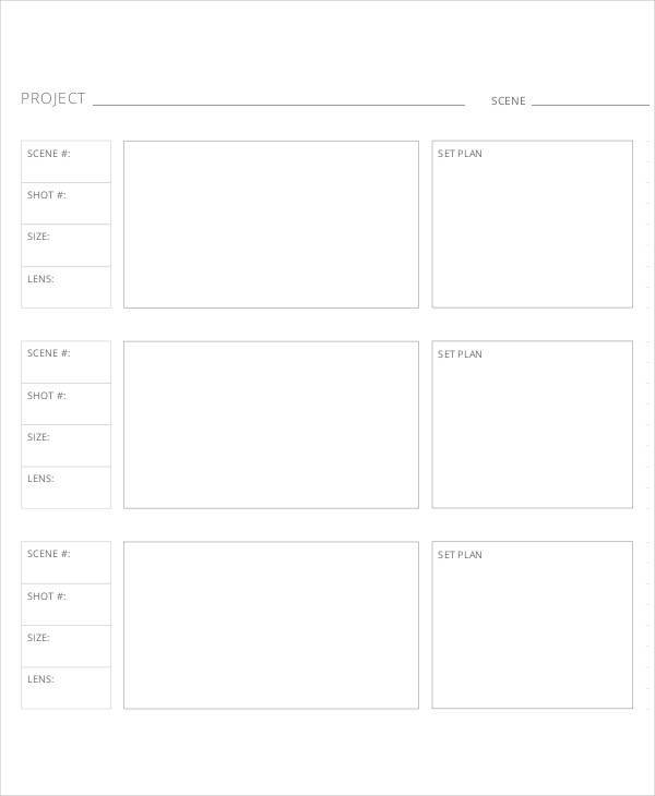 Movie Storyboard  Free Sample Example Format Download