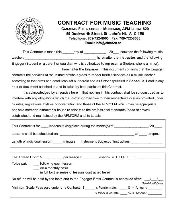 music teacher contract2