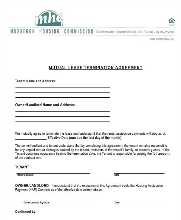 mutual contract termination1