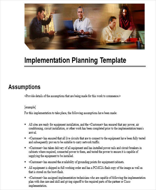 network implementation plan