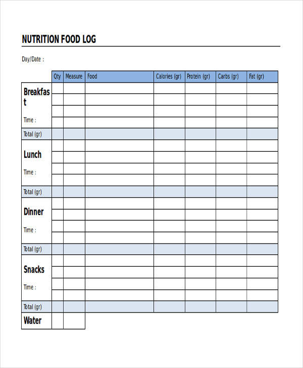 nutrition food log1