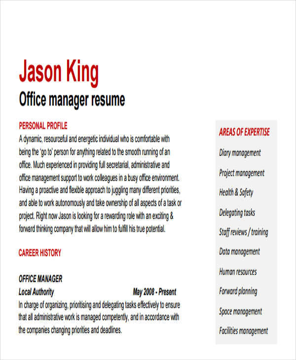 office services manager