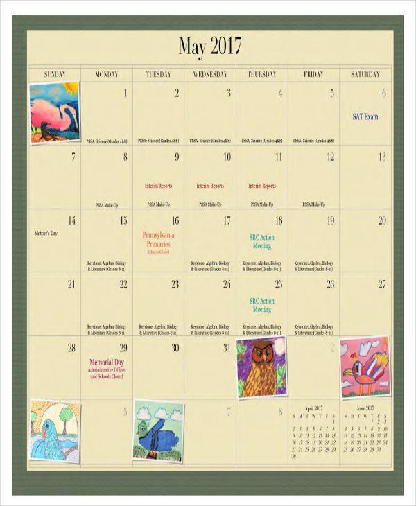 perpetual wall calendar2