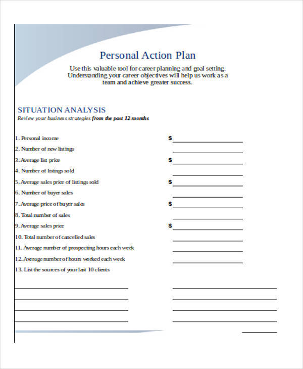 personal action plan4