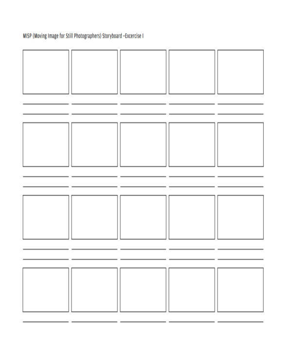 8 Photography Storyboard Samples Examples In Word Pdf Sample