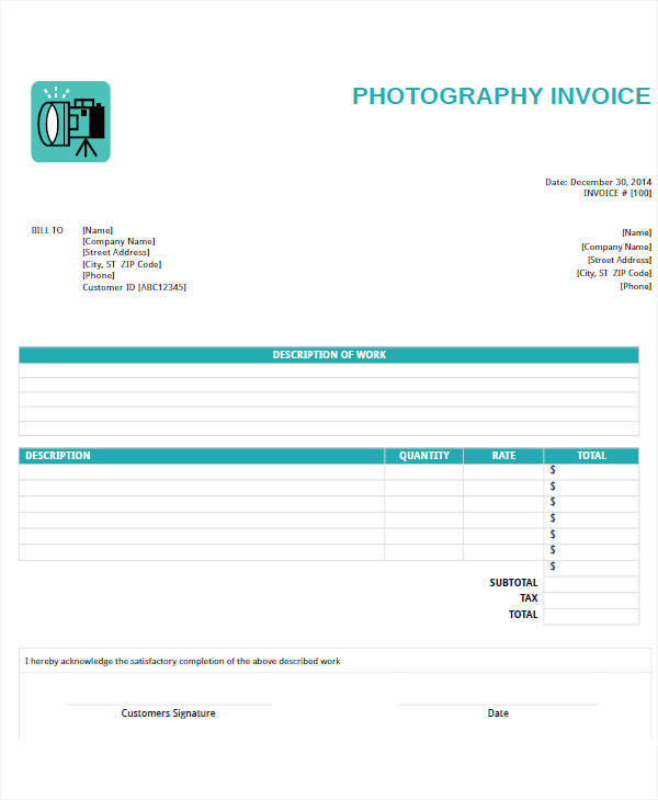 photography business invoice1